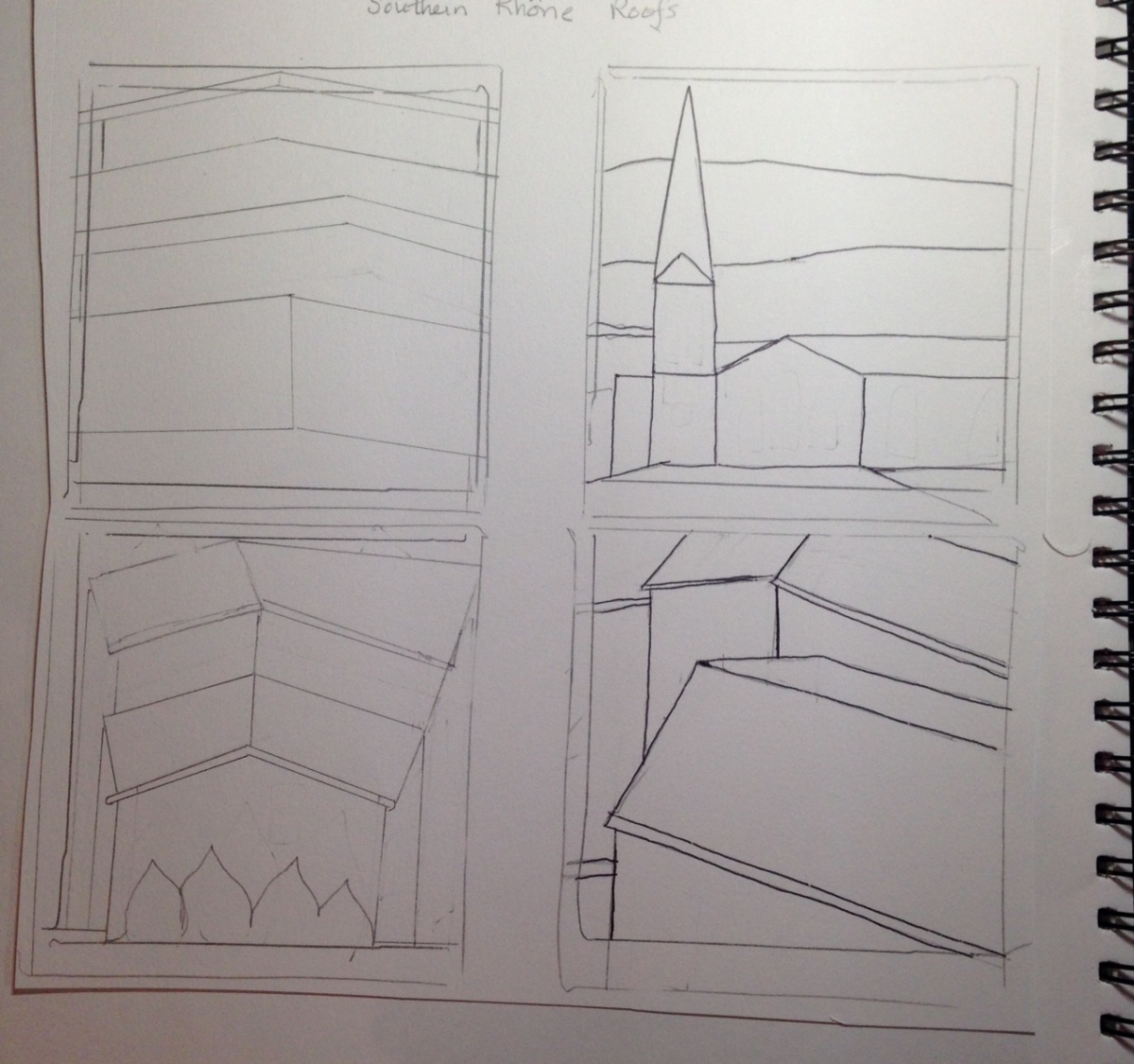 four-roof-sketches